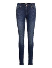 Pzemma Jeans Skinny Leg Skinny Jeans Blå Pulz Jeans