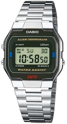 Casio Casio Collection Herreur A163wa-1qes Stål 36.8x33 Mm
