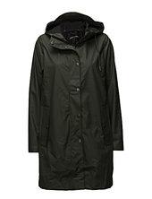 Stala Jacket 7357 Outerwear Rainwear Rain Coats Grøn Samsøe Samsøe