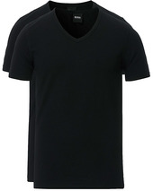 Boss 2-pack V-neck Slim Fit Tee Black