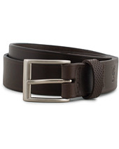 Tärnsjö Garveri Leather Belt 3cm Dark Brown