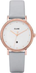 Cluse 99999 Dameur Cl63001 Hvid/læder Ø33 Mm