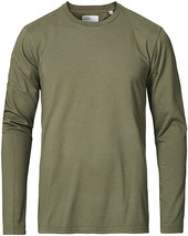 Colorful Standard Classic Organic Long Sleeve T-shirt Dusty Olive