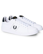 Fred Perry B721 Leather Sneakers White/navy