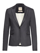 Blake Night Blazer Sustainable Blazer Jakke Blå Mos Mosh