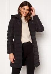 Tommy Jeans Quilted Down Coat Bds Black M