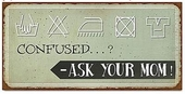 "Magnet 5x10 Cm - ""confused...? - Ask....."""