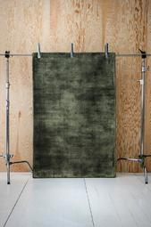 Anela Mini Luvtæppe 100x150 Cm Mørkegrøn