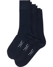 3-pack Lhasa Cashmere Socks Dark Navy
