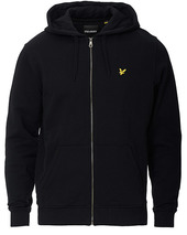 Lyle & Scott Full Zip Hoodie Jet Black