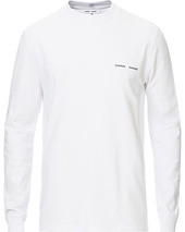 Samsøe & Samsøe Norsbro Long Sleeve Organic Cotton Tee White
