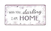 "Magnet 5x10 Cm - ""with You Darling...."""