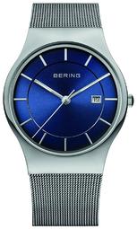 Bering Classic Herreur 11938-003 Blå/stål Ø38 Mm