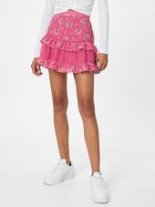 Glamorous Nederdel  Pink / Pastelgrøn / Rød / Hvid