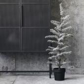 Juletræ Med Sne Og Lys House Doctor