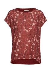 Sicily Tshirt T-shirt Top Rød Inwear