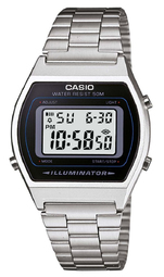 Casio Collection Herreur B640wd-1avef Lcd/stål 38.9x35 Mm