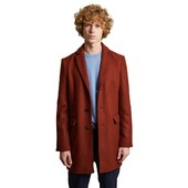Virgin Wool Overcoat