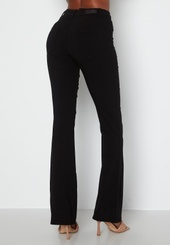 Pieces Highskin Flared Pant Black Xs