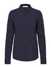 Milly Np Shirt 9942 Langærmet Skjorte Blå Samsøe Samsøe