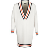 Pullovere Maison Scotch  White Long Sleeves