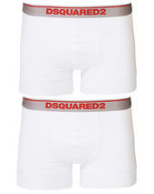 Dsquared2 2-pack Modal Stretch Trunk White