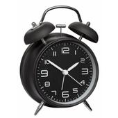 Sort Vækkeur Med Klokker