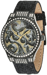 Guess Dress Dameur W0844l1 Flerfarvet/tekstil Ø40 Mm