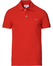 Lacoste Slim Fit Polo Piké Rouge Red