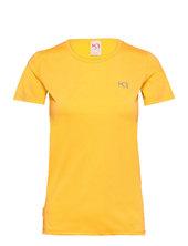 Nora Tee T-shirt Top Gul Kari Traa