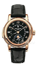 Patek Philippe Grand Complications Herreur 5016r/011 Sort/læder