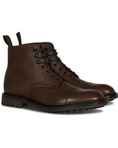 Loake 1880 Sedbergh Derby Boot Brown Grain Calf