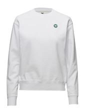 Jess Sweatshirt Sweatshirt Trøje Hvid Wood Wood