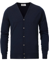 John Smedley Petworth Merino Cardigan Midnight