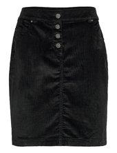 Skirts Woven Kort Nederdel Sort Esprit Casual