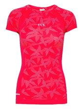 Butterfly Tee T-shirt Top Lyserød Kari Traa