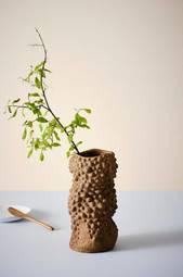 Nour Vase Lysebrun