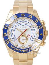 Rolex Yacht-master Herreur 116688-0002 Hvid/18 Karat Guld Ø44 Mm