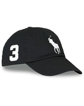 Polo Ralph Lauren Big Pony Cap Rl Black