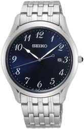 Seiko Classic Herreur Sur301p1 Blå/stål Ø38 Mm