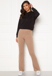 Pieces Molly Hw Flared Pants Warm Taupe Xl