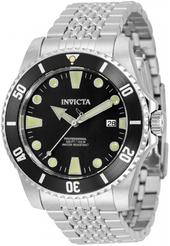 Invicta Pro Diver Herreur 33502 Sort/stål Ø44 Mm
