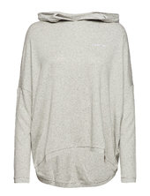 L/s Hoodie Night & Loungewear Sweatshirts Grå Calvin Klein