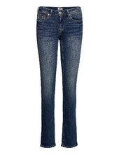 Mid Rise Straight Sandy Rbst Slim Jeans Blå Tommy Jeans