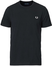 Fred Perry Ringer Crew Neck Tee Navy