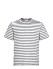 Sami Classic Stripe T-shirt T-shirt Grå Wood Wood