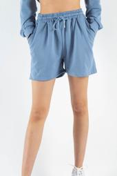 Calee Sweatshorts - Blue - Irréel - Blå Xl