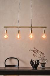 Persson Loftlampe Guldfarvet