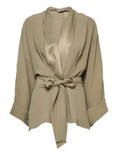 Rodebjer Tennessee Twill Kimonos Grøn Rodebjer