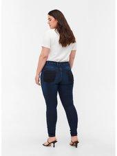 Zizzi Jeans 'amy'  Mørkeblå